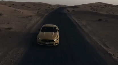 Mustang GT 50 years - Desert Road